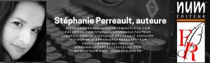 Stéphanie Perreault, auteure chez Encre Rouge et Numéditeur.com