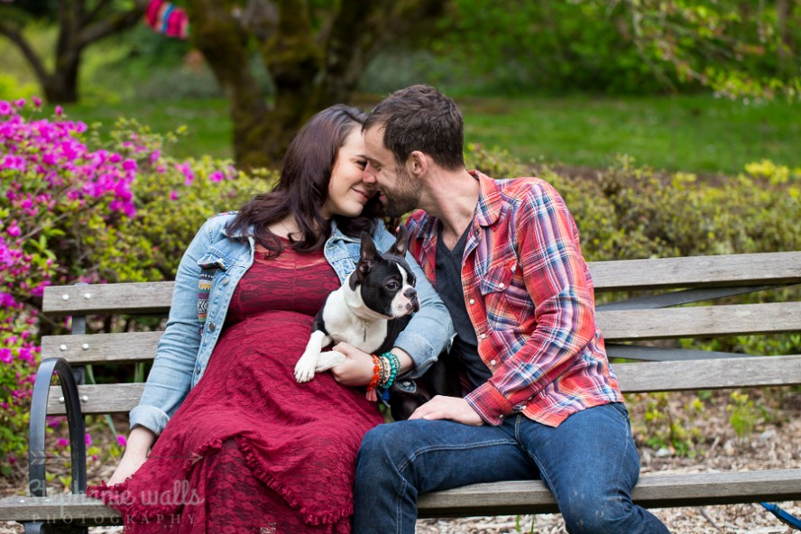 Nikkis Maternity 4 Washington Park Arboretum| Nikkole & Jon| Seattle Maternity Photographer