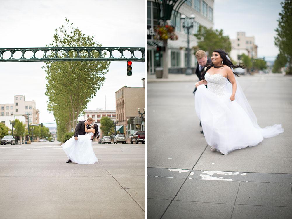 bridal party GLAM MONTE CRISTO BALLROOM WEDDING | EVERETT WEDDING PHOTOGRAPHER