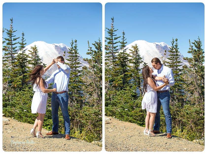 2015 12 16 0012 Crystal Mountain Resort Engagement  | Enumclaw Engagement Photographer