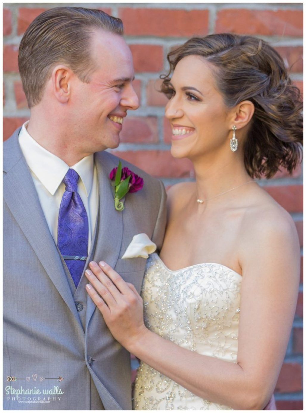 2016 02 16 0087 Purple Glam | Monte Cristo Ballroom Wedding Everett, Washington