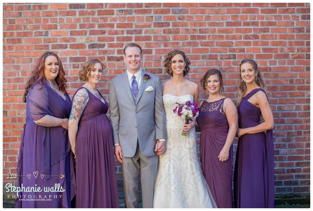 2016 02 16 0094 Purple Glam | Monte Cristo Ballroom Wedding Everett, Washington