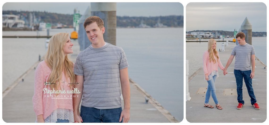 2016 12 21 0009 Windy Engagement | Everett Marina Dock Engagement Session