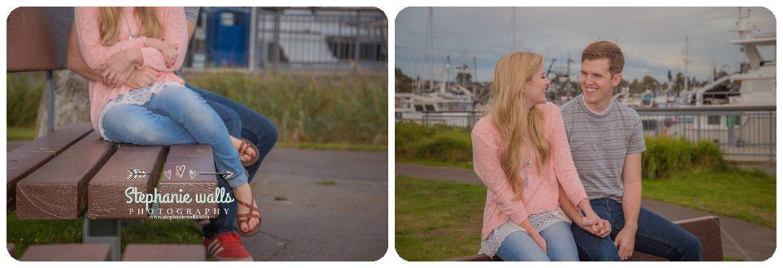 2016 12 21 0015 Windy Engagement | Everett Marina Dock Engagement Session