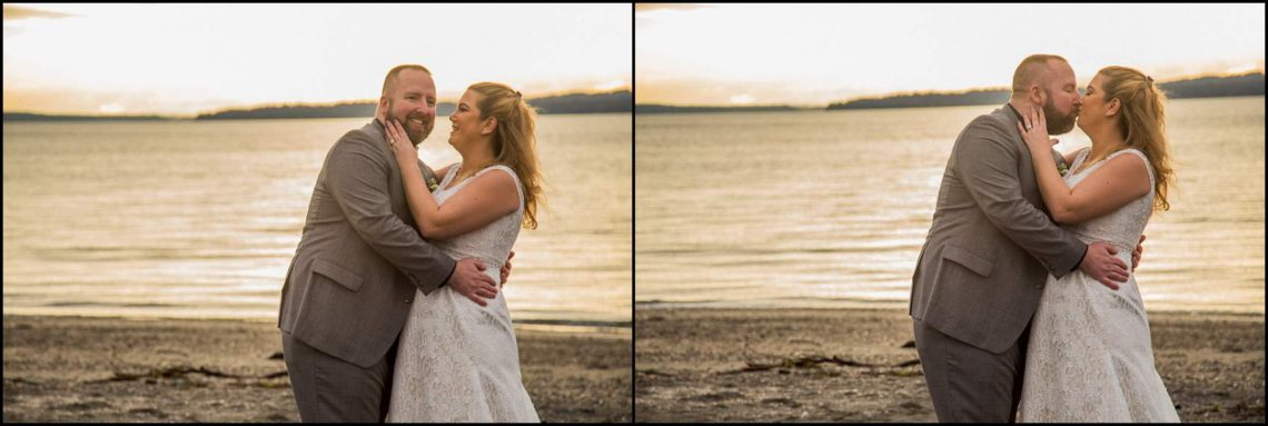 Buck Wedding 143 WATCHING SUNSETS TOGETHER |  BEACH ELOPEMENT WEDDING EDMONDS, WA