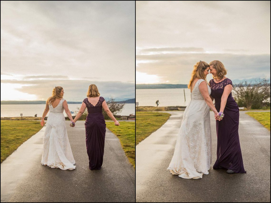 Buck Wedding 169 WATCHING SUNSETS TOGETHER |  BEACH ELOPEMENT WEDDING EDMONDS, WA