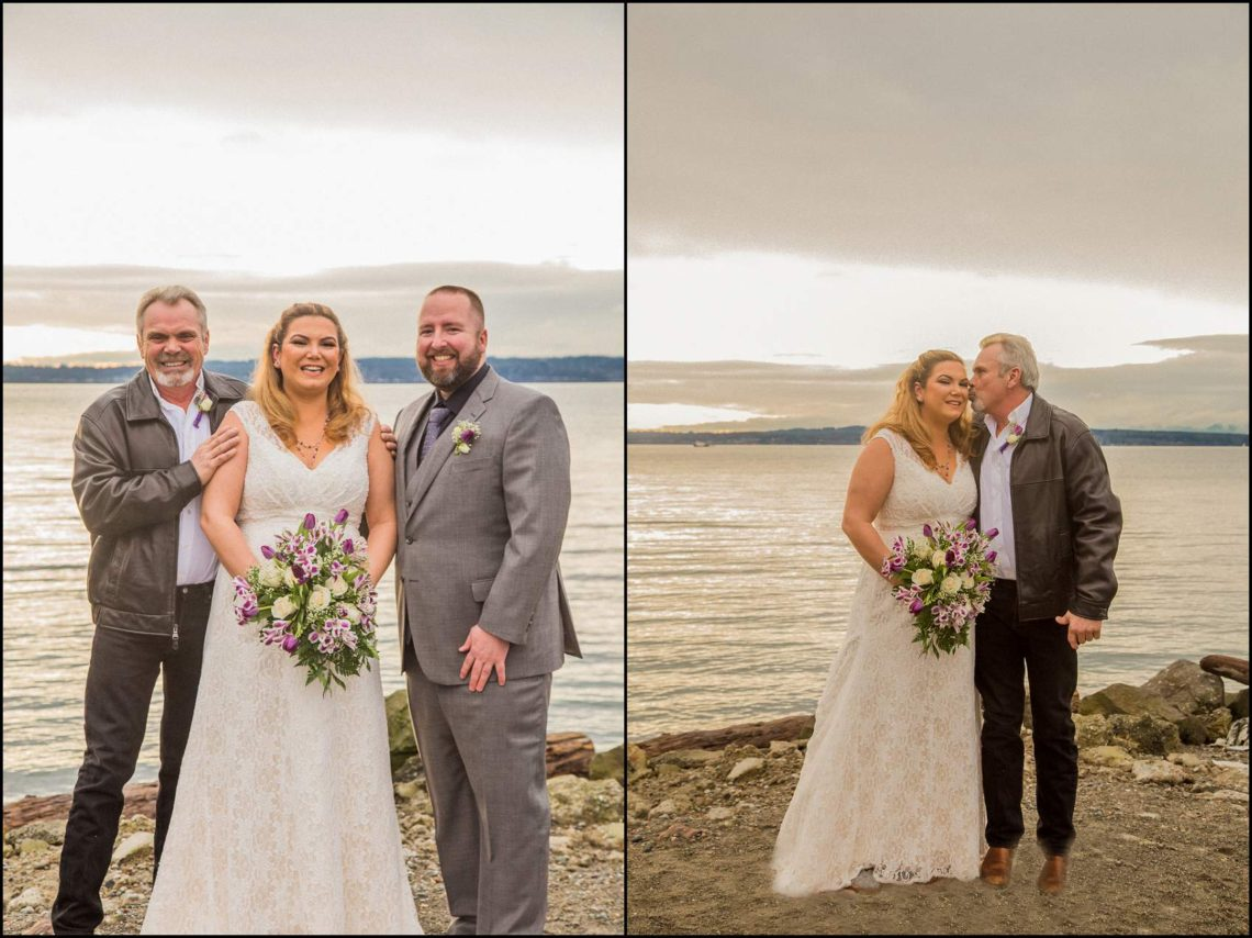 Buck Wedding 34 WATCHING SUNSETS TOGETHER |  BEACH ELOPEMENT WEDDING EDMONDS, WA