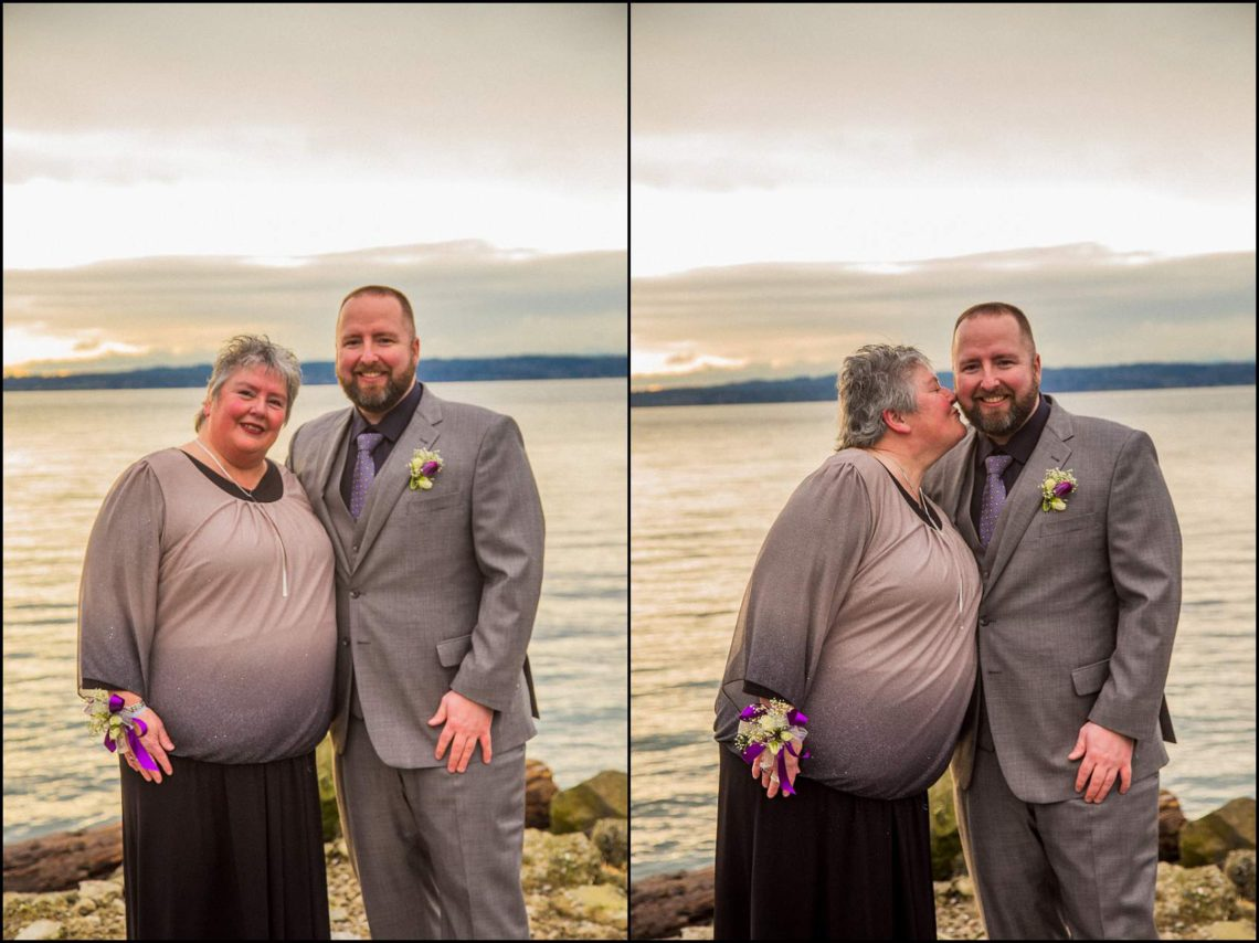 Buck Wedding 55 WATCHING SUNSETS TOGETHER |  BEACH ELOPEMENT WEDDING EDMONDS, WA