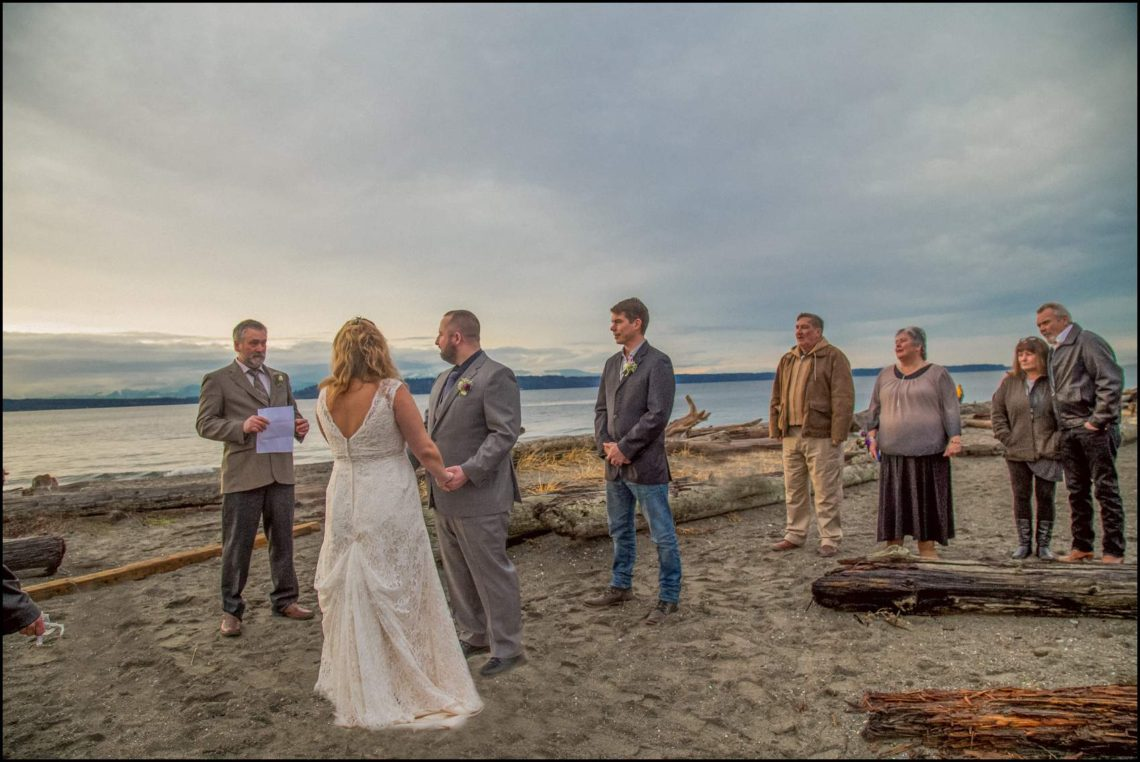 Buck Wedding 99 WATCHING SUNSETS TOGETHER |  BEACH ELOPEMENT WEDDING EDMONDS, WA