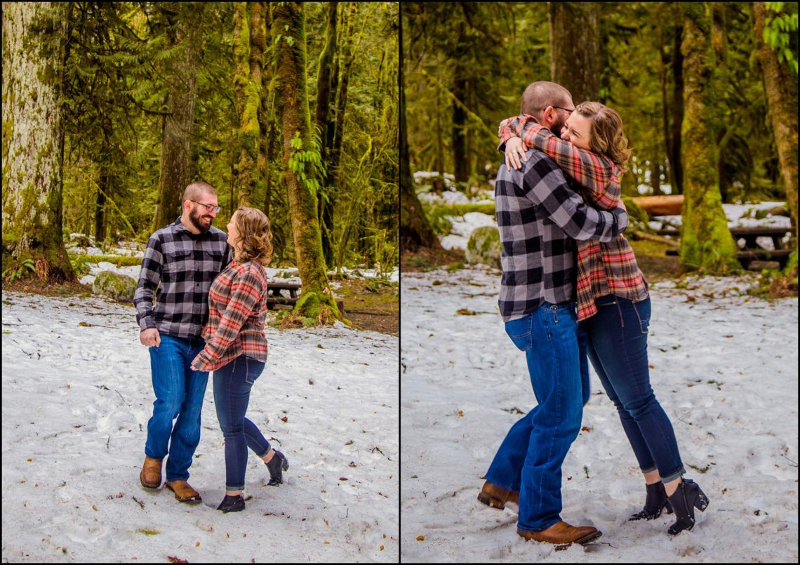 Lauren Hovig 24 I LOVE YOU I KNOW | MONEY CREEK ENGAGEMENT SESSION | SKYKOMISH, WA