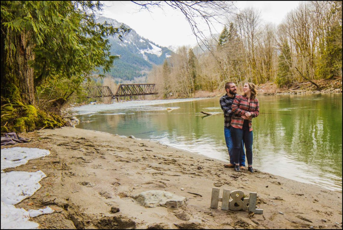 Lauren Hovig 68 I LOVE YOU I KNOW | MONEY CREEK ENGAGEMENT SESSION | SKYKOMISH, WA