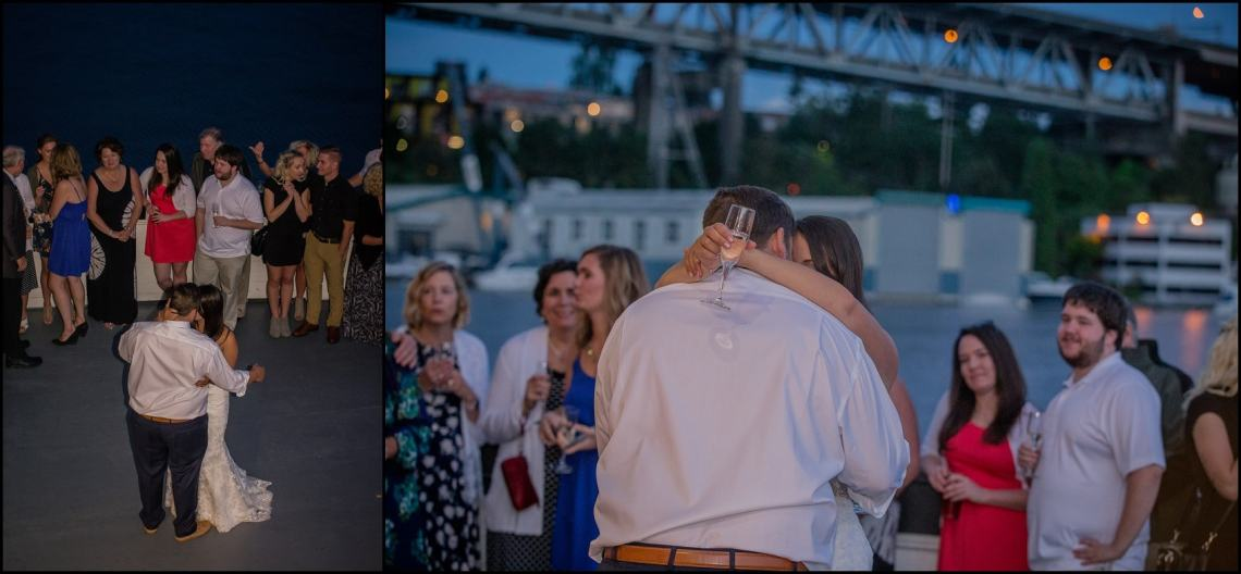 ogden reception546 LINDSEY & KENNY HOMETOWN RECEPTION | THE HISTORIC MV SKANSONIA | SEATTLE, WA