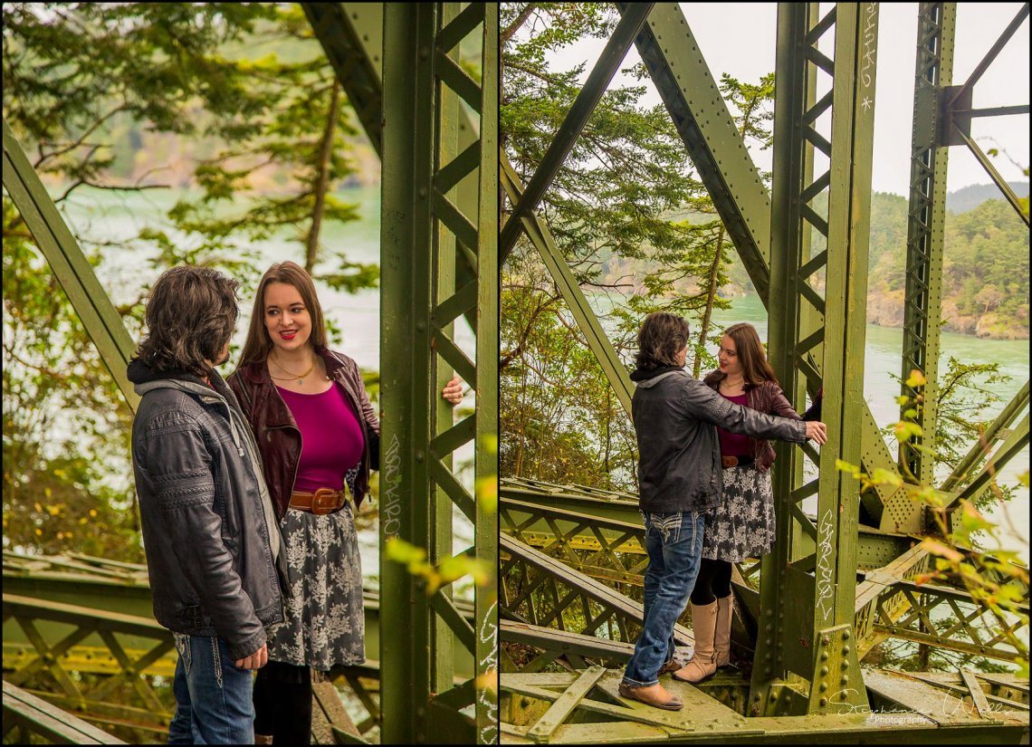 Foss 001 Rainy Engagement Session | Deception Pass Park Engagement Session | Anacortes, Wa Wedding Photographer