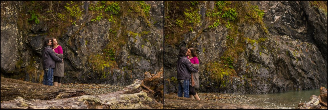 Foss 032 Rainy Engagement Session | Deception Pass Park Engagement Session | Anacortes, Wa Wedding Photographer