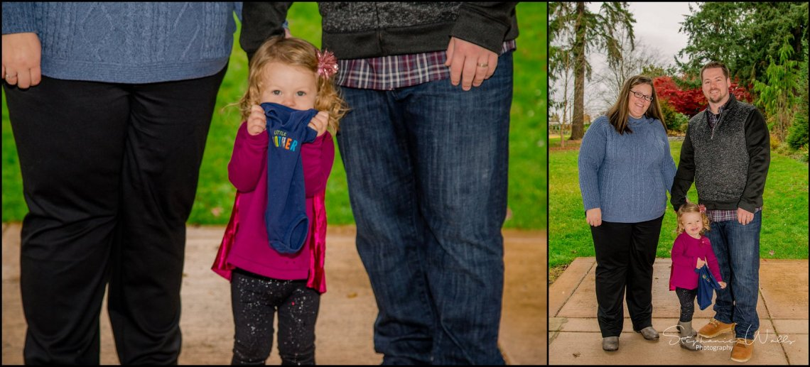 Gunderman Family 015 Rainy Day Family Session | Evergreen Arboretum & Gardens | Everett Family Portrait Photographer