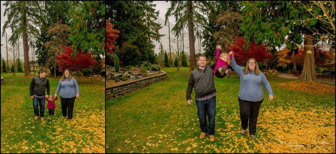 Gunderman Family 041 Rainy Day Family Session | Evergreen Arboretum & Gardens | Everett Family Portrait Photographer