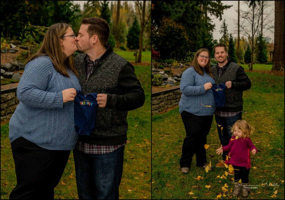 Gunderman Family 051 Rainy Day Family Session | Evergreen Arboretum & Gardens | Everett Family Portrait Photographer