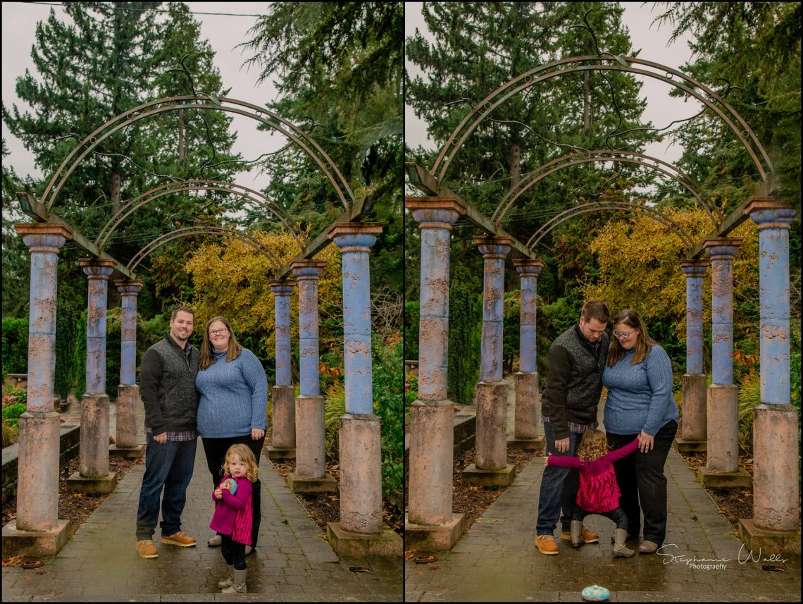 Gunderman Family 067 Rainy Day Family Session | Evergreen Arboretum & Gardens | Everett Family Portrait Photographer