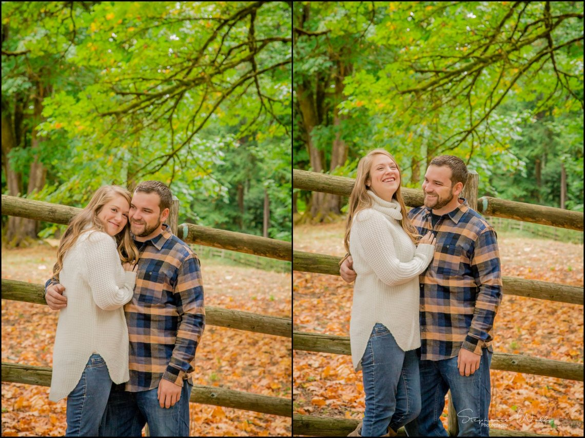 Kylie David 001 Engaged   Lord Hill Park with Kylie and David