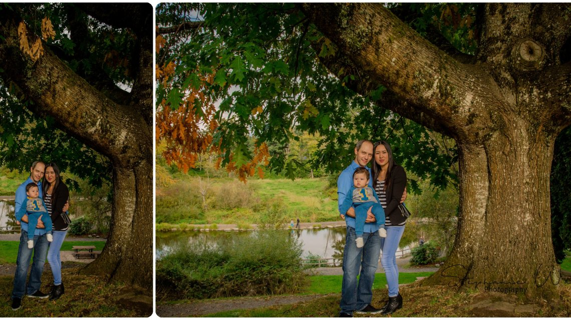 Guess Who's One   Jennings Memorial Park   Marysville Family Portrait Photographer