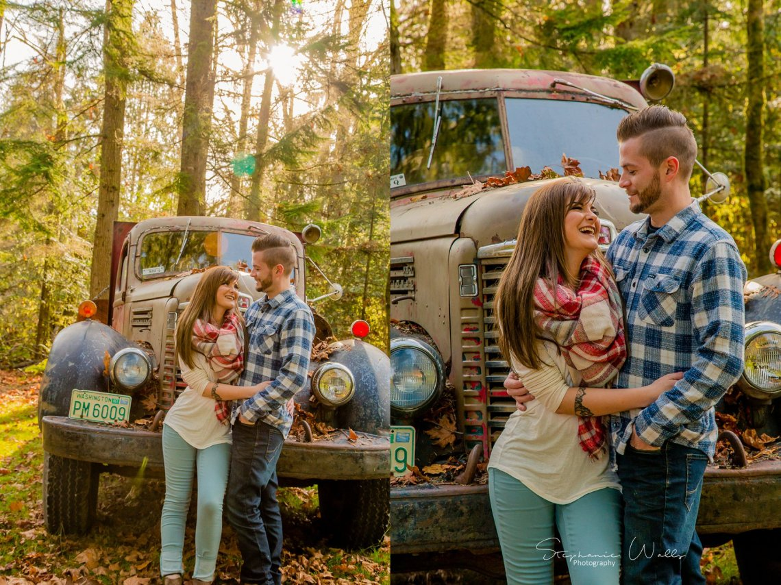 Miller Engagement 067 Making our own Tribe | The  Lookout Lodge Engagement Session | Snohomish WA Wedding Photographer