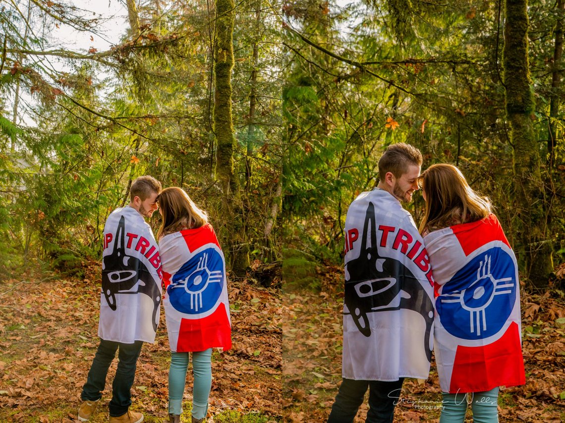 Miller Engagement 074 Making our own Tribe | The  Lookout Lodge Engagement Session | Snohomish WA Wedding Photographer