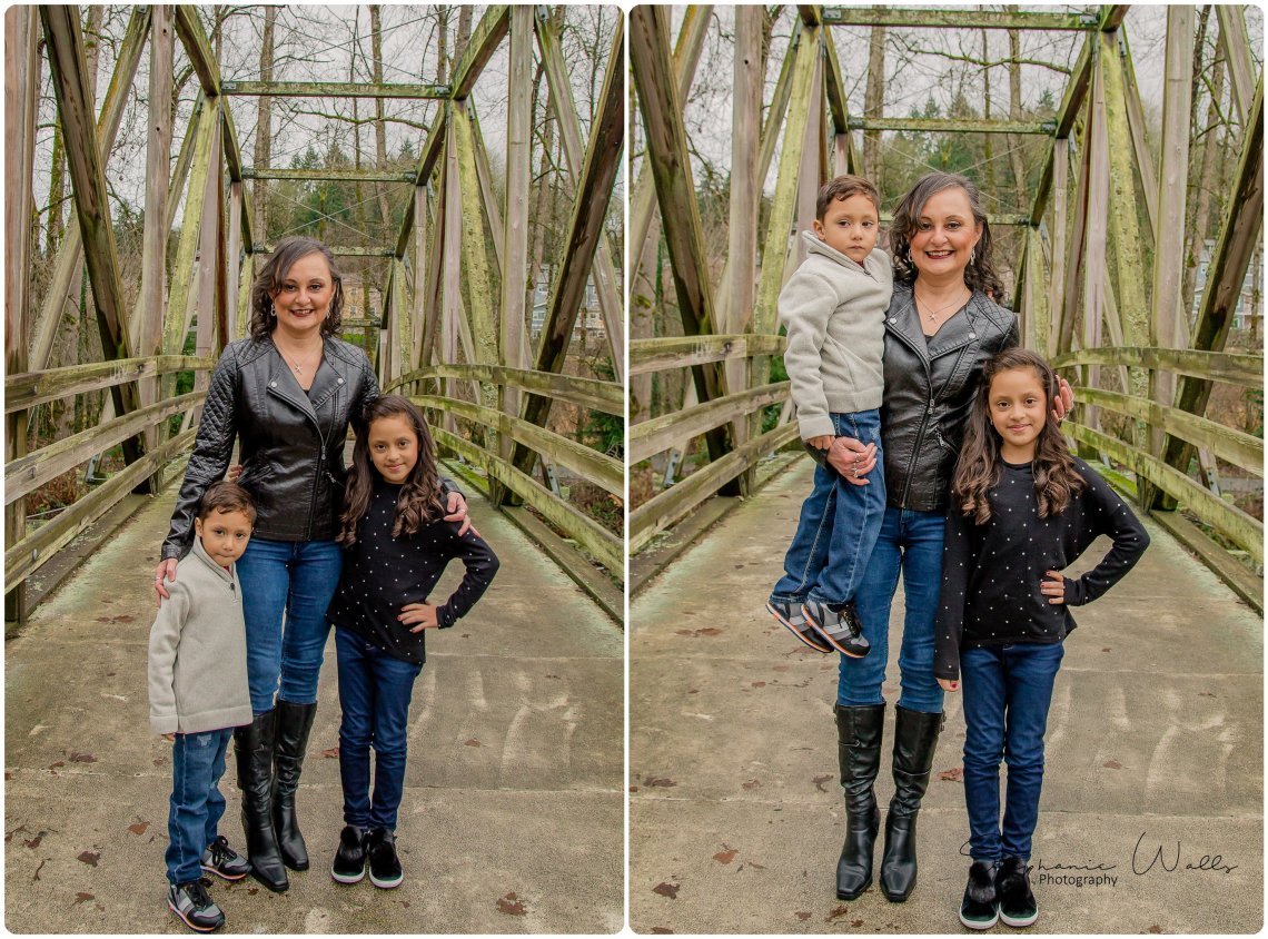 Chinchilla Family 005 1 Bothell Landing Park with the Riccis, Chinchilla and Flores