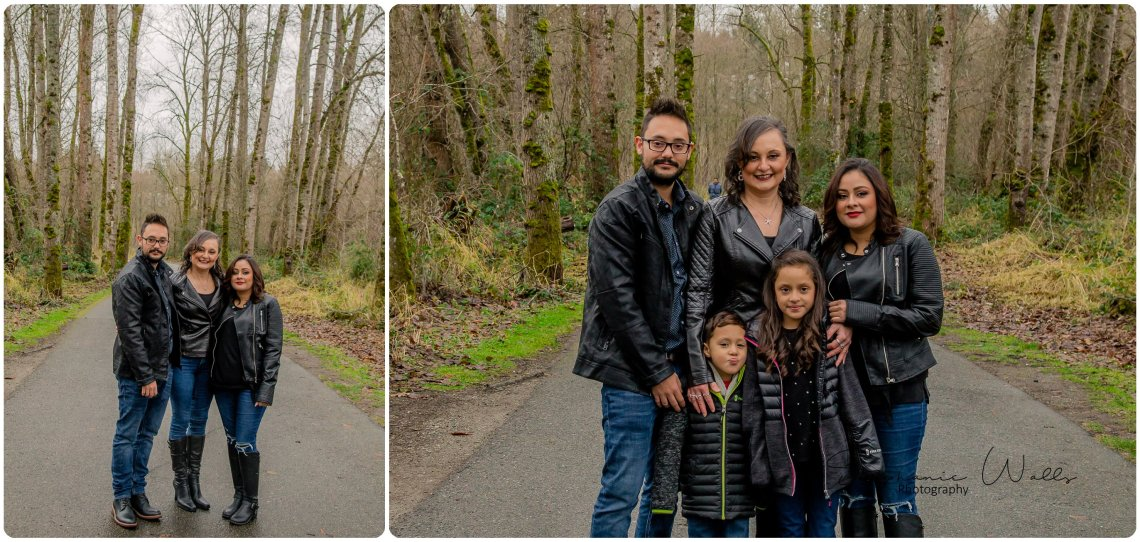 Chinchilla Family 022 Bothell Landing Park with the Riccis, Chinchilla and Flores