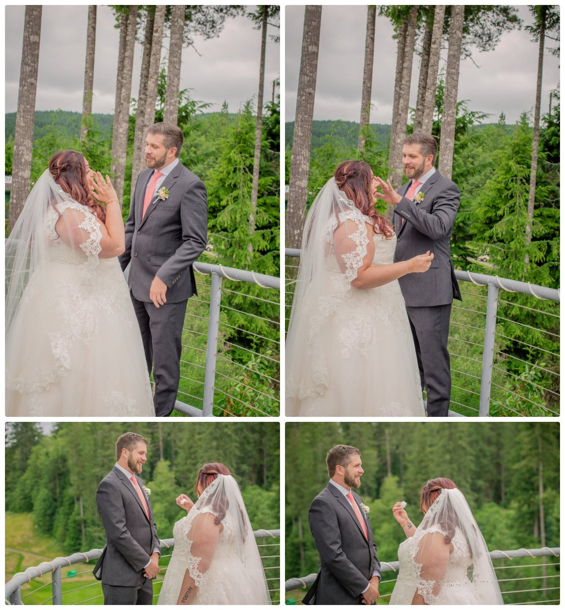 1st look Bridals 049 Gold Mountain Golf Course Wedding With Jenn and Rob