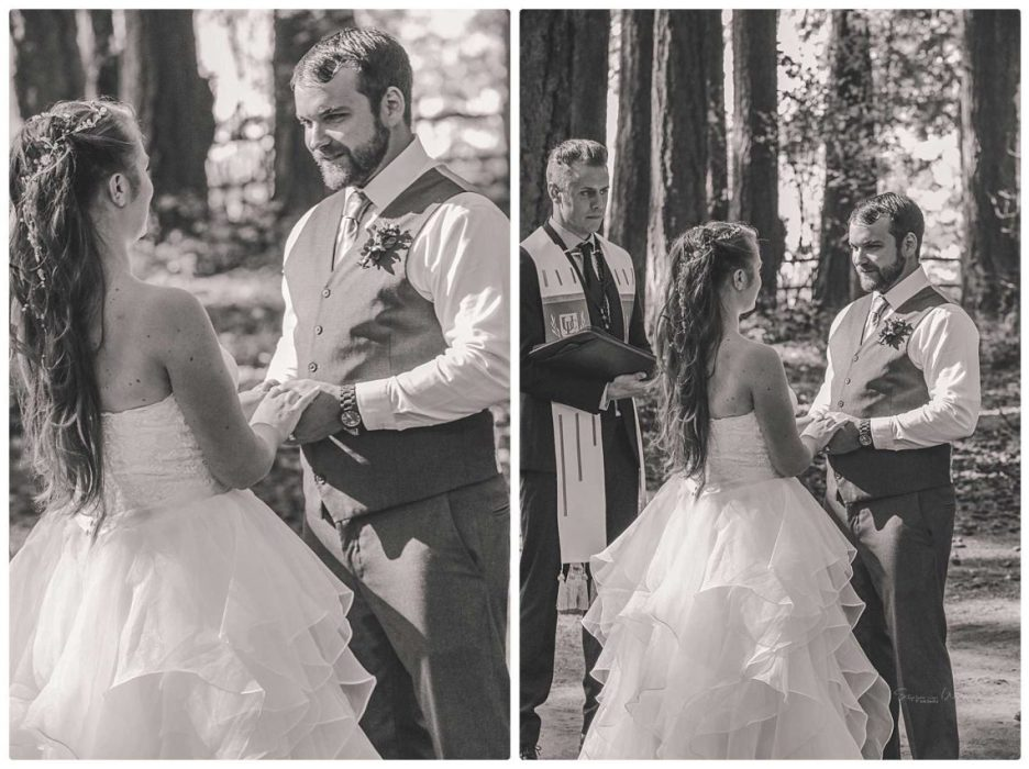 Ceremony 211 936x700 Skys the Limit | Kitsap Memorial State Park | Kitsap Wedding Photographer