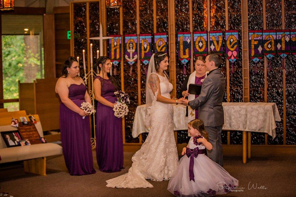 Stephanie Walls Photography 0199 950x633 Wayside United Church of Christ Wedding of Melissa and Melba