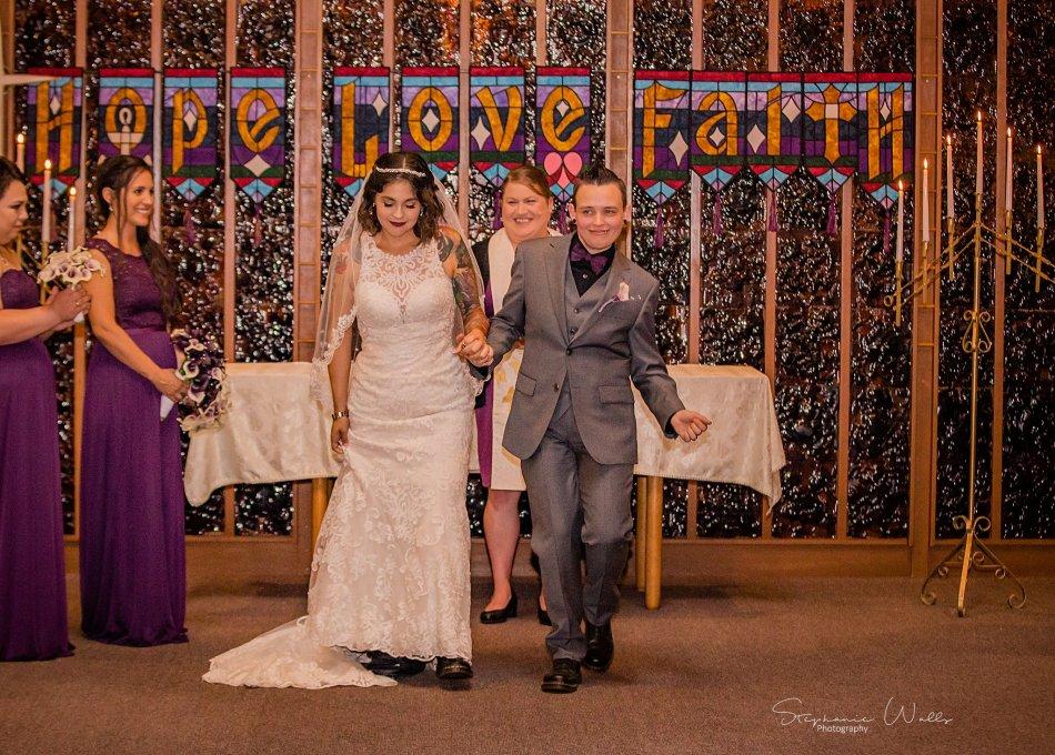 Stephanie Walls Photography 0201 950x680 Wayside United Church of Christ Wedding of Melissa and Melba