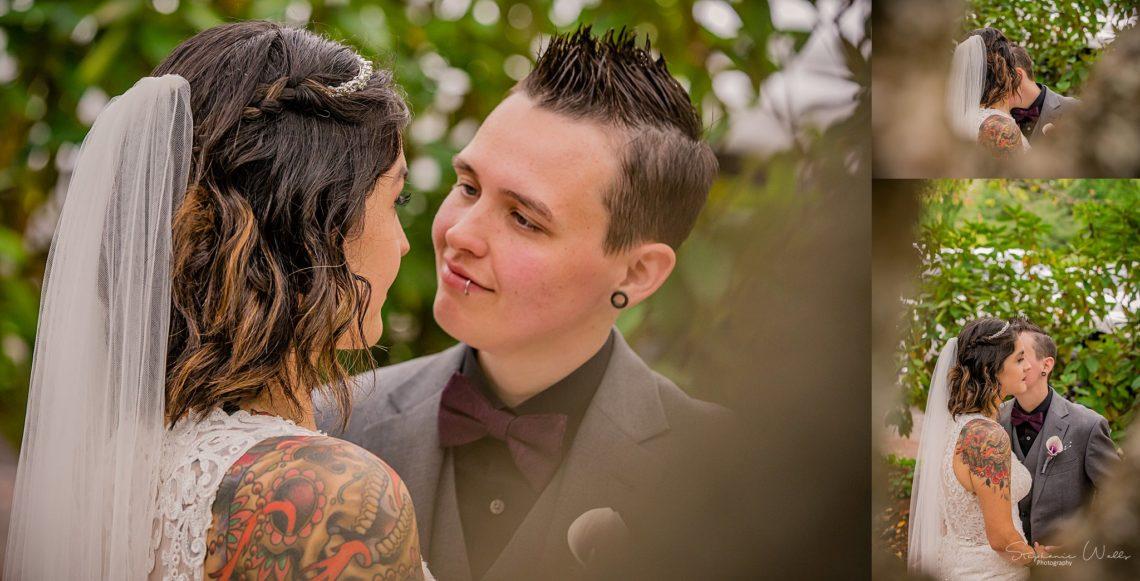 same sex bridal photos