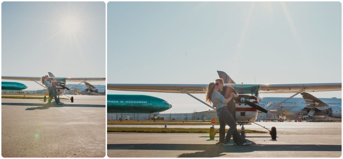 Stephanie Walls Photography 1018 scaled Paine Field  Edmonds Beach Engagement | Laura and Evan