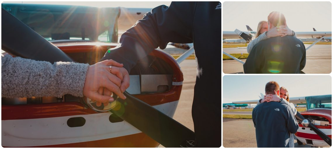 Stephanie Walls Photography 1029 scaled Paine Field  Edmonds Beach Engagement | Laura and Evan