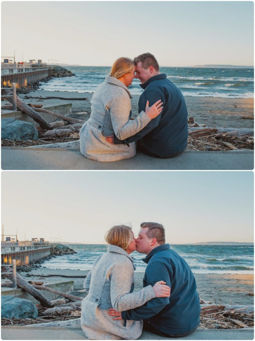 Stephanie Walls Photography 1031 scaled Paine Field  Edmonds Beach Engagement | Laura and Evan