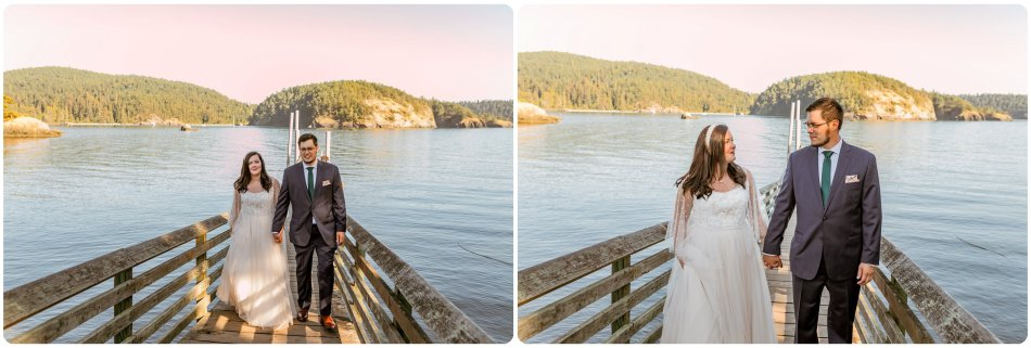 Stephanie Walls Photography 1171 950x321 Summer Deception Pass Elopement at Rosario Beach | Jacinda & Trevor