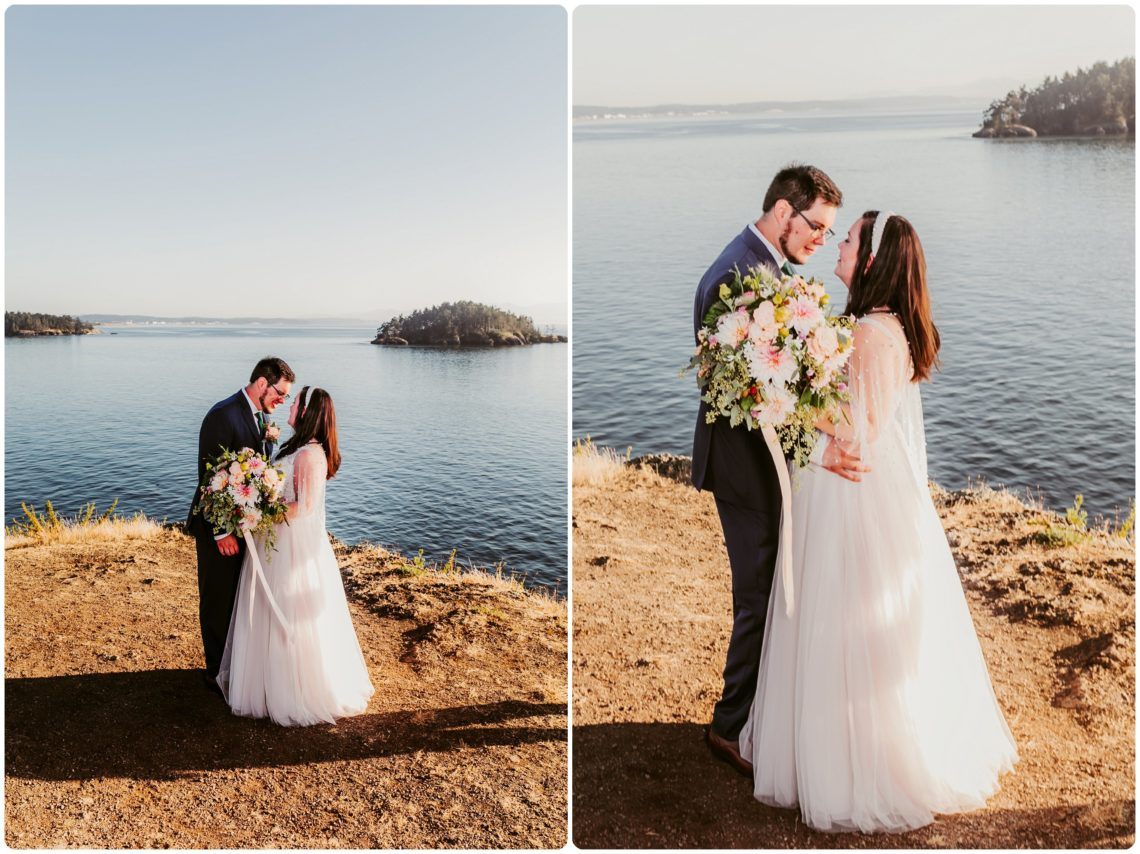 Stephanie Walls Photography 1172 scaled Summer Deception Pass Elopement at Rosario Beach | Jacinda & Trevor
