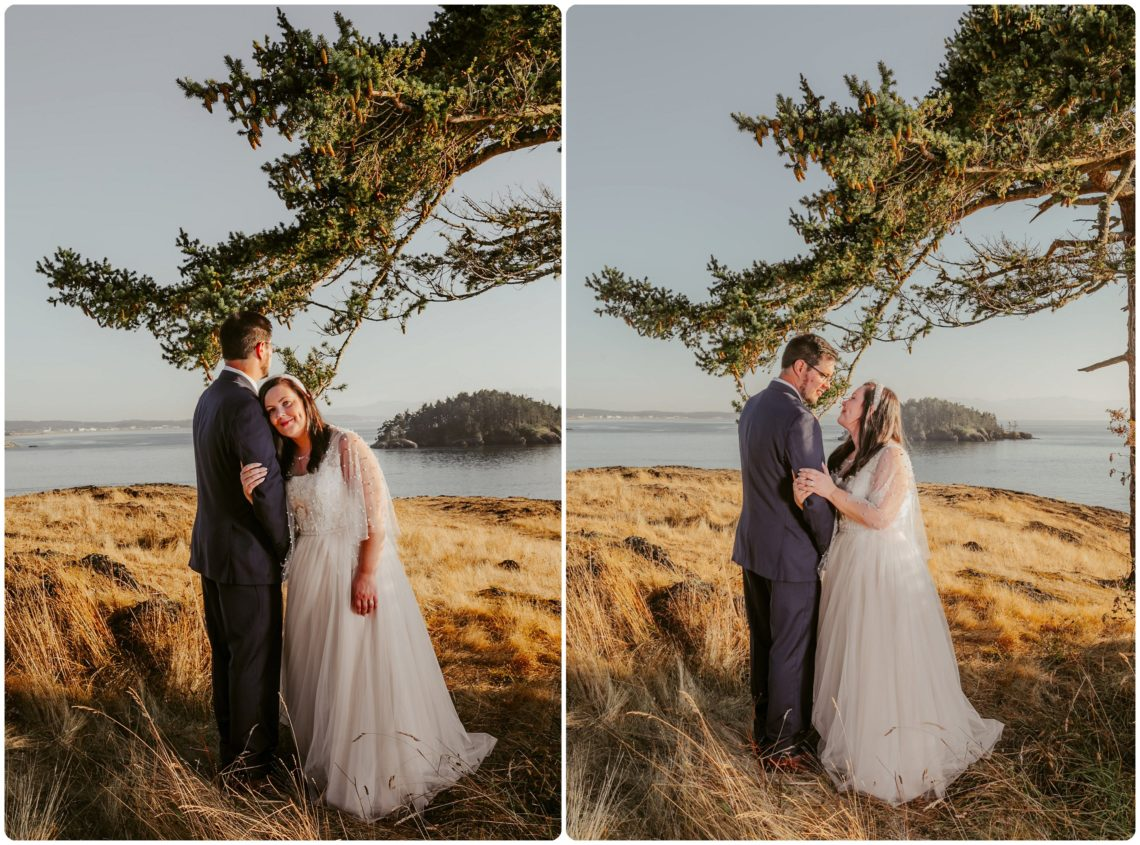 Stephanie Walls Photography 1179 scaled Summer Deception Pass Elopement at Rosario Beach | Jacinda & Trevor