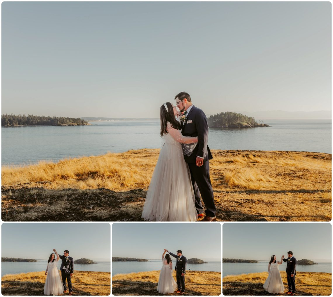 Stephanie Walls Photography 1185 scaled Summer Deception Pass Elopement at Rosario Beach | Jacinda & Trevor