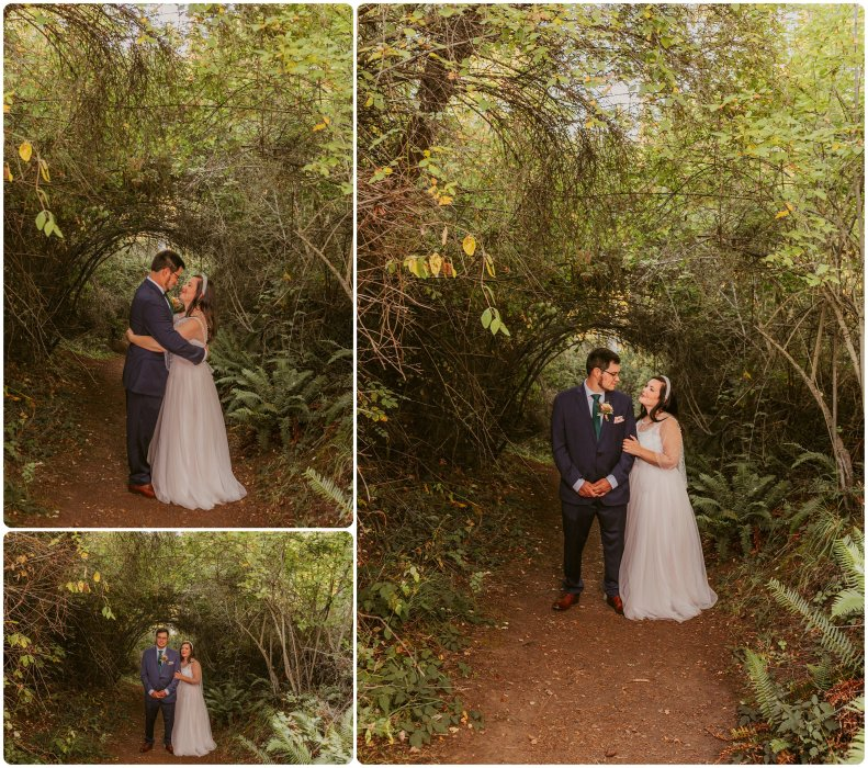 Stephanie Walls Photography 1190 791x700 Summer Deception Pass Elopement at Rosario Beach | Jacinda & Trevor