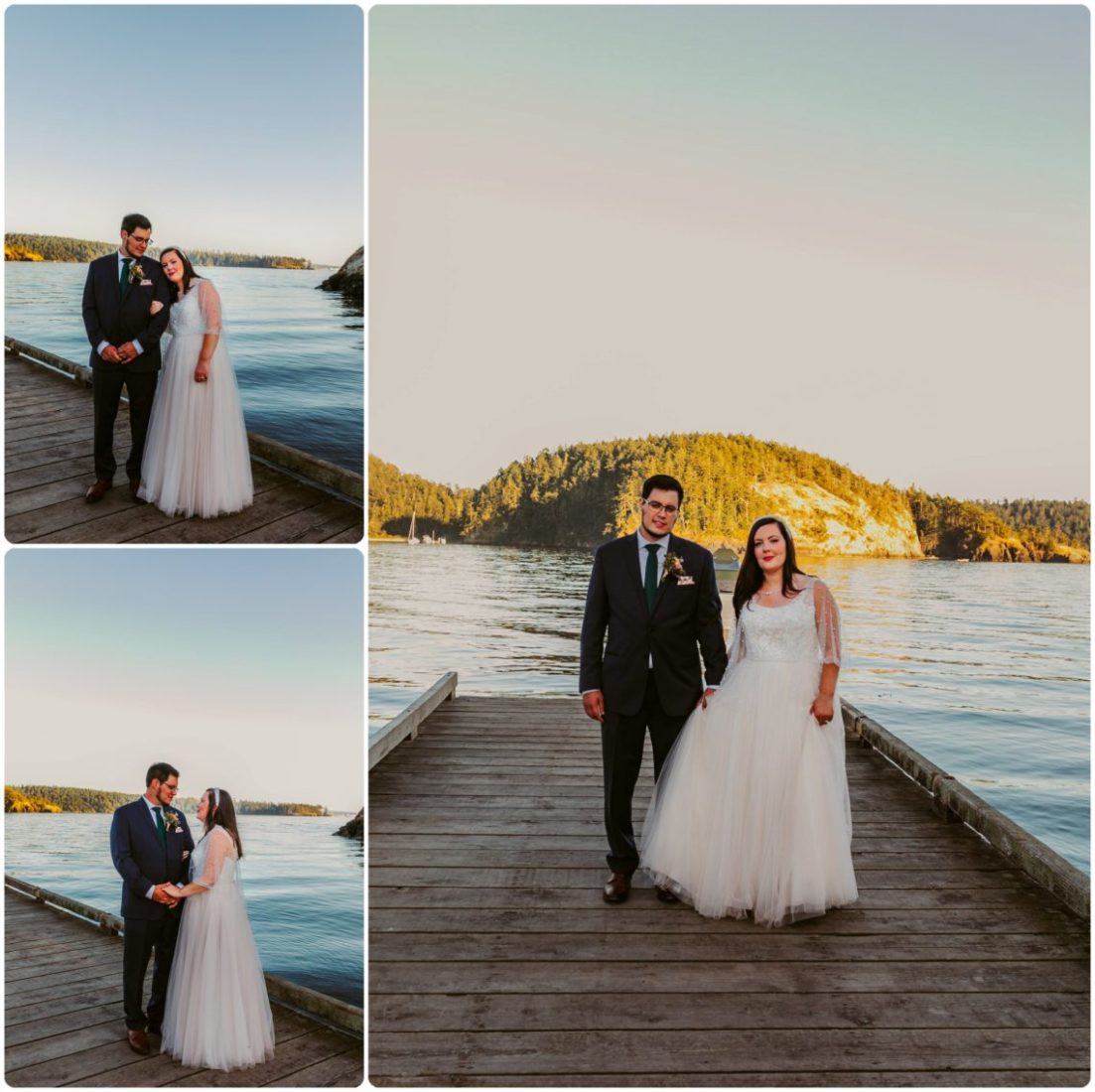 Stephanie Walls Photography 1193 scaled Summer Deception Pass Elopement at Rosario Beach | Jacinda & Trevor
