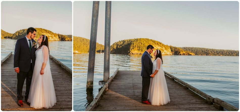 Stephanie Walls Photography 1194 950x445 Summer Deception Pass Elopement at Rosario Beach | Jacinda & Trevor