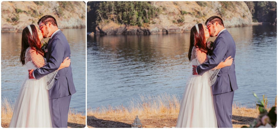 Stephanie Walls Photography 1211 scaled Summer Deception Pass Elopement at Rosario Beach | Jacinda & Trevor