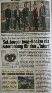 delayed Band in der Kronenzeitung.