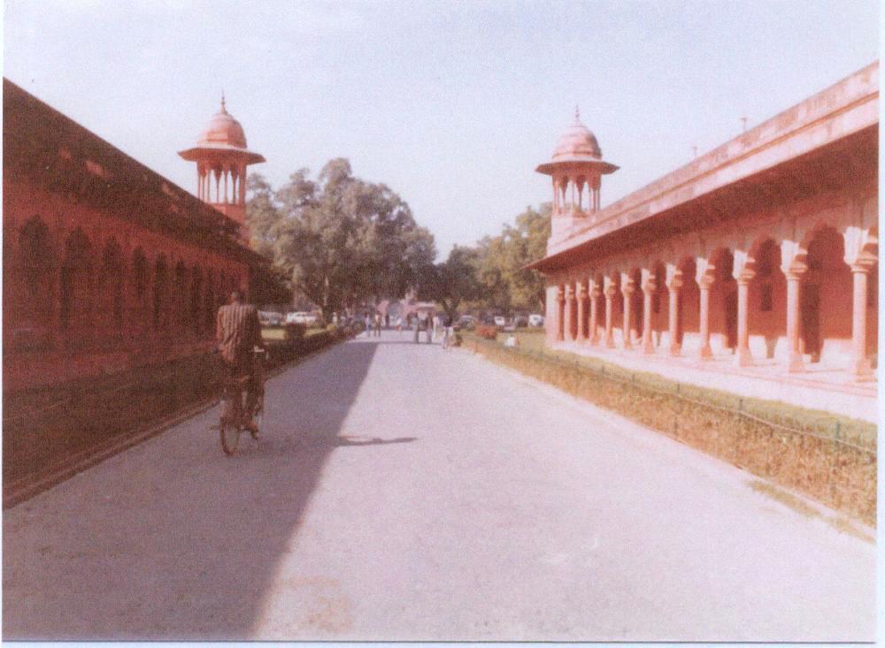 Corridor Taj Mahal.