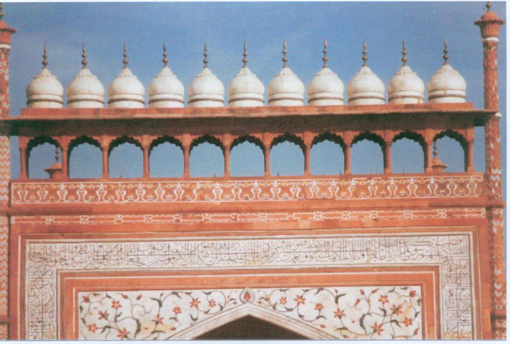 Cupolas, Taj Mahal