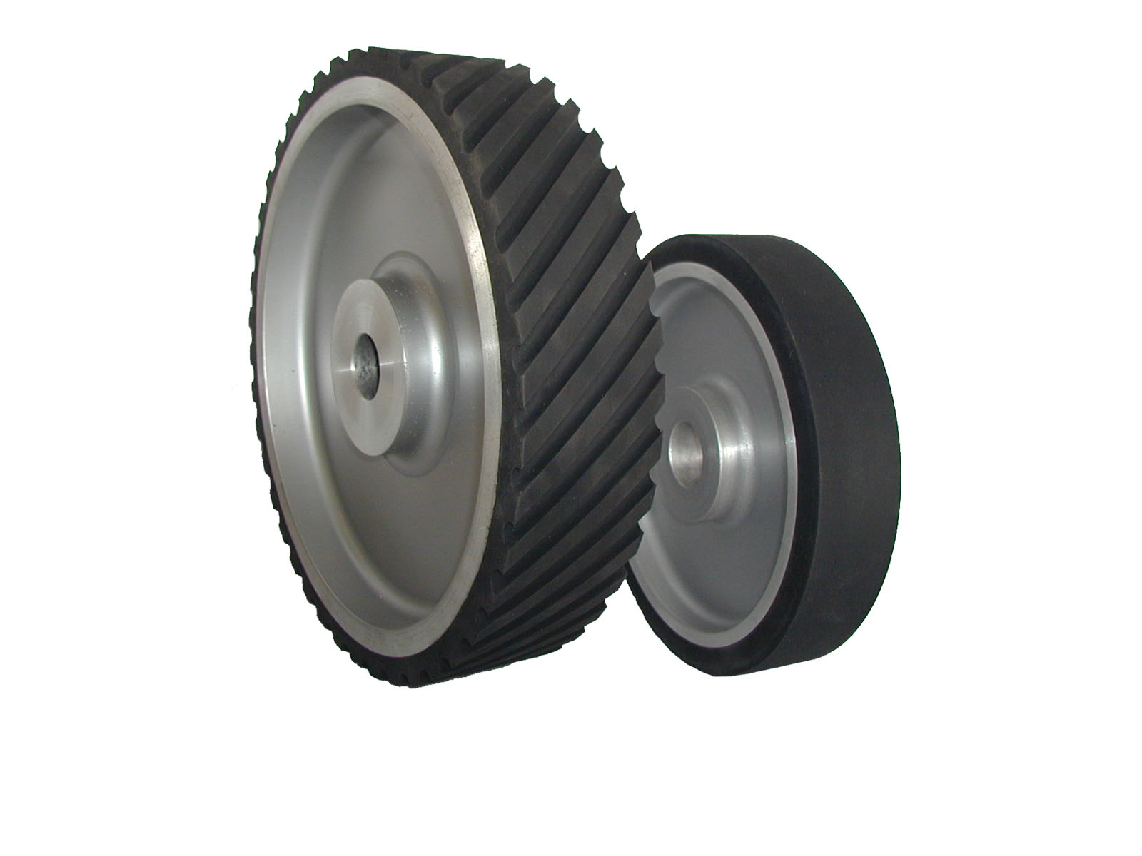 Neoprene Serrated 1 Inch Wide Contact Wheel Stephen Bader