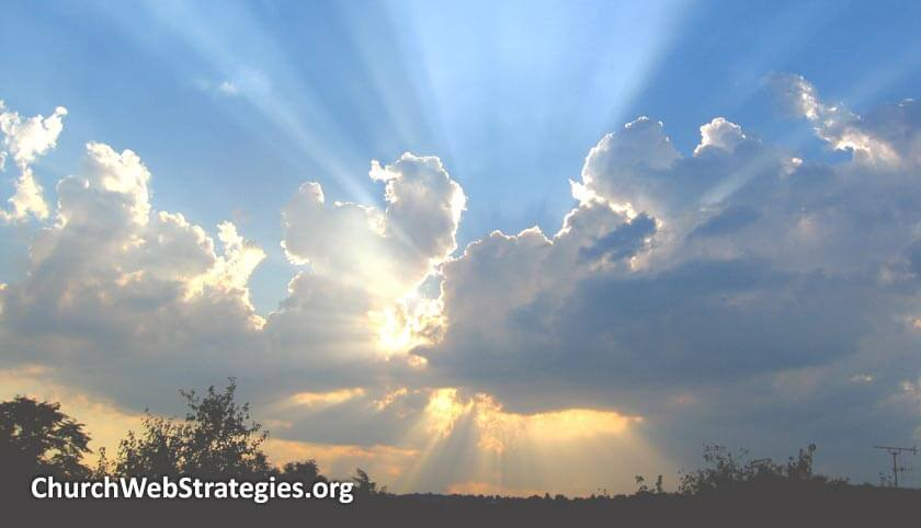 Let Love Shine on Your Church Web Site