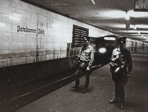 The underground Berlin Wall
